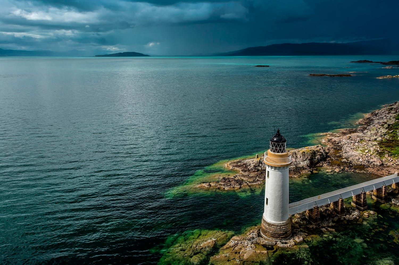 Un faro en Escocia