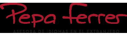 Pepa Ferrer – Asesora de idiomas en el extranjero Logo retina