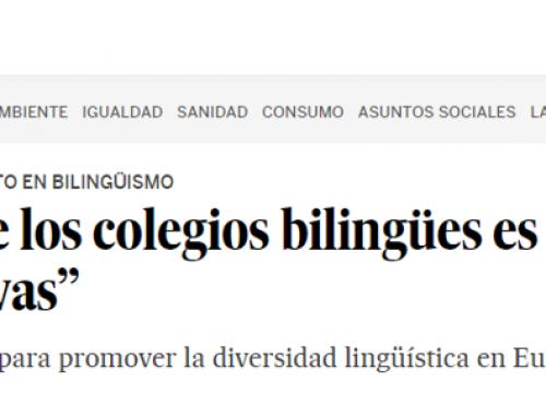 A propósito del bilingüismo
