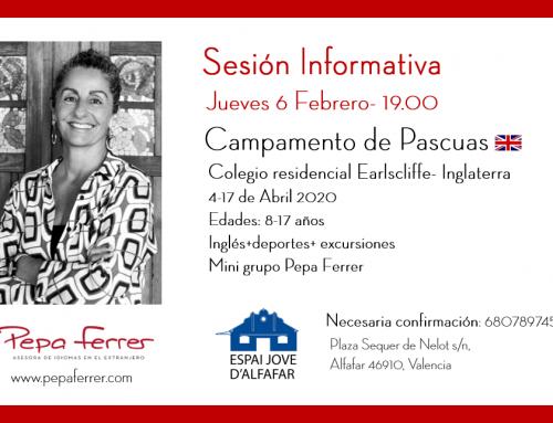 Sesión Informativa 6 de Febrero